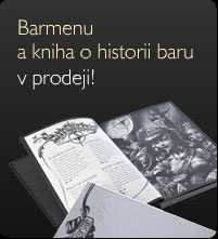 Barmenu a kniha o historii baru v prodeji!