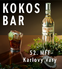 Kokos bar 52. MMF Karlovy vary