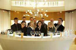 2009 Návštěva Champagne, sklepy Delamotte, Salon