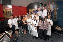 Téměř kompletní team Bugsy's baru 1995 - 2010