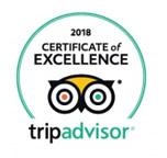 Certifikát výjimečnosti 2018 TripAdvisor Bugsy's Bar